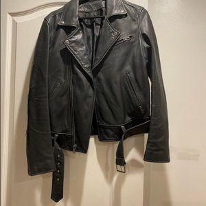Leather BLK DNM jacket
